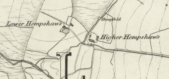 Lower and Higher Hempshaws in times gone by.