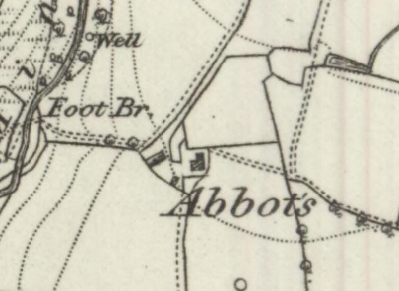 Abbots, with Lead Mines Clough to the NW.