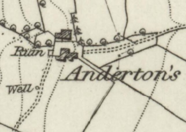 Andertons was quite a substantial farm.