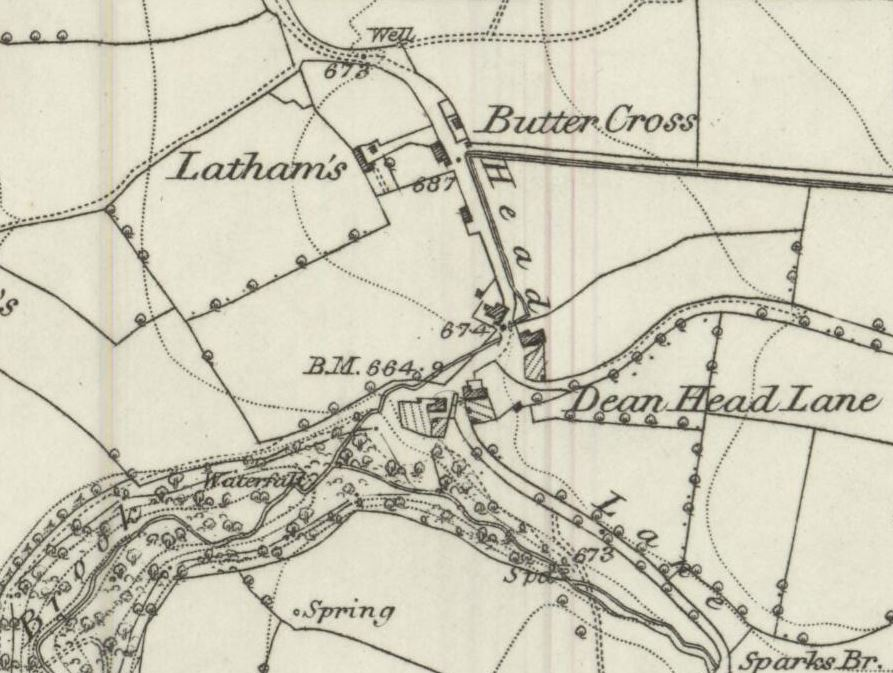 Latham's, incorporated into the grounds of Wilcock's Farm camp site these days.